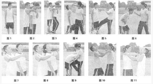 神盾局科普自卫防身术技巧,女性必看 第2张