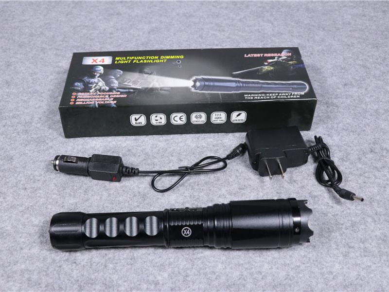 黑鹰X4型泰瑟大威力电棍
